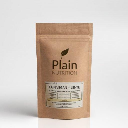 Almost Plain Vegan + Lentil - Vanilla